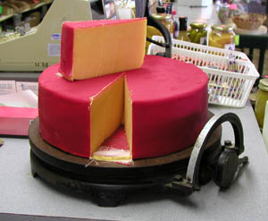 OLD FASHIONED HOOP CHEESE